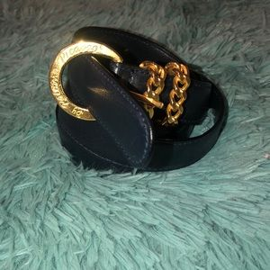 Vintage Paloma Picasso Belt W/ Chain Accent